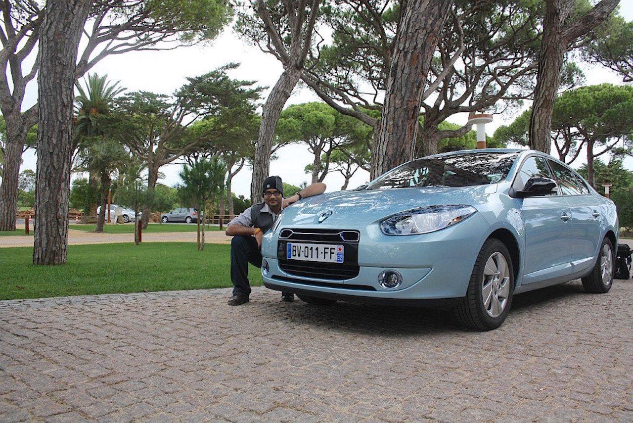 Shrawan Renault EV drive