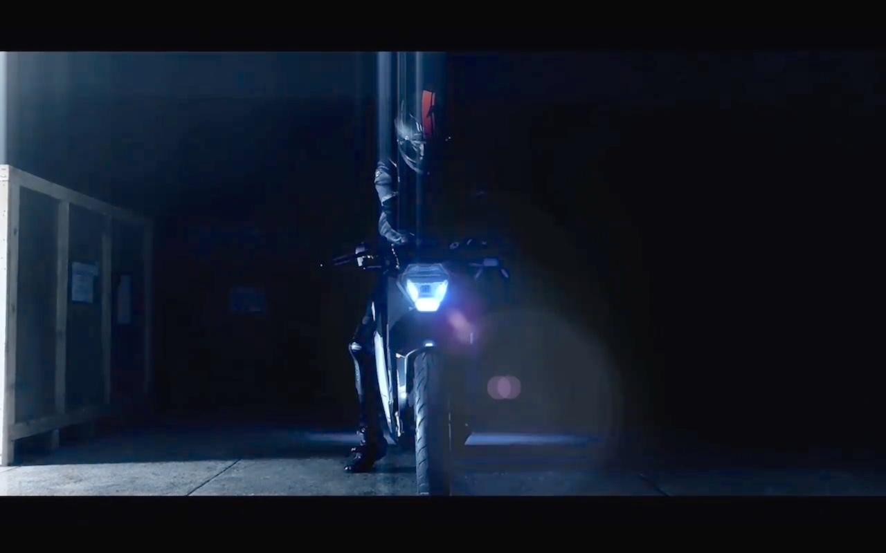Ultraviolette F77 headlamp teaser