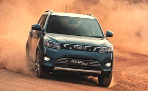 Mahindra XUV300 front press image