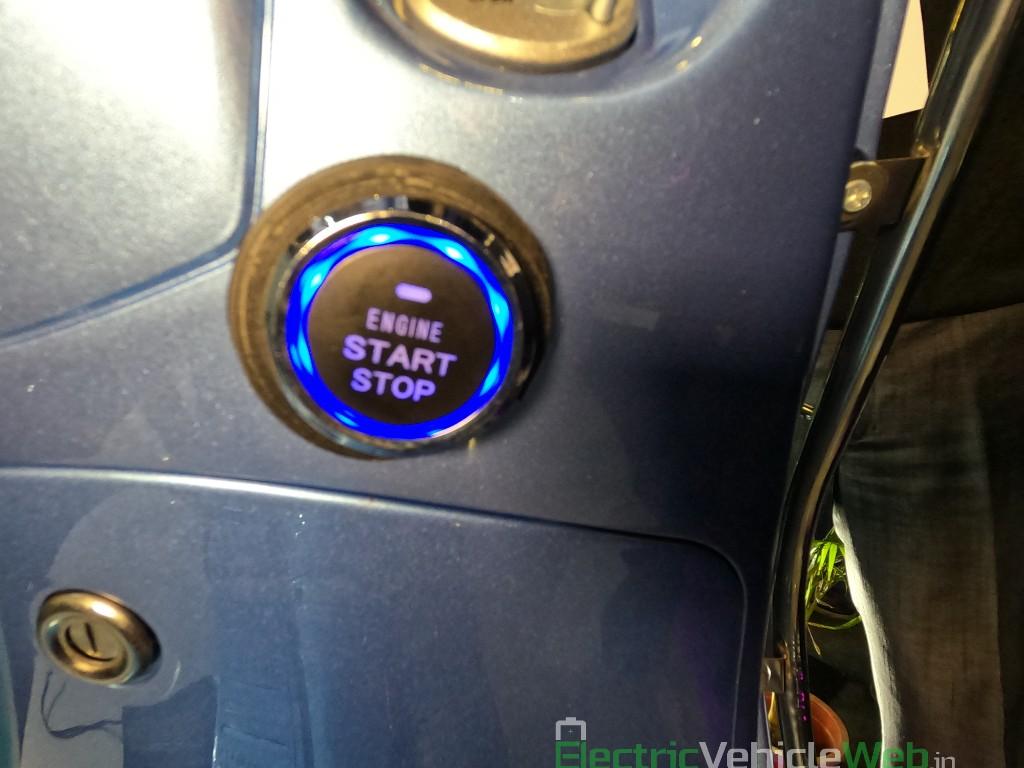 Benling Aura start stop button