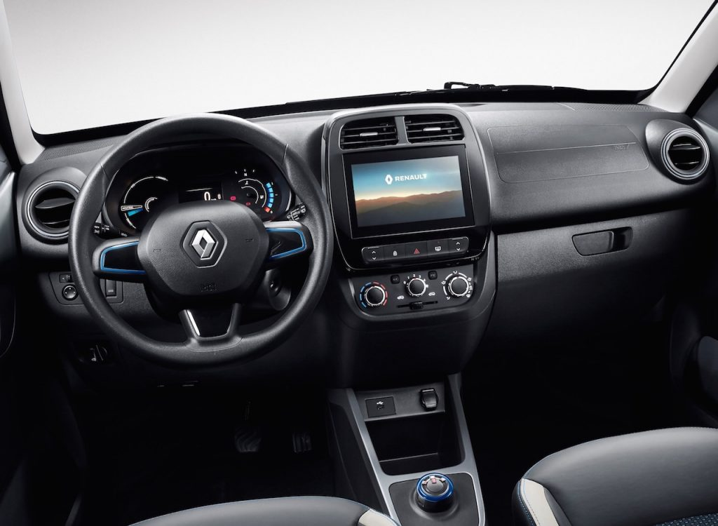 Renault K-ZE (Kwid electric) for China dashboard