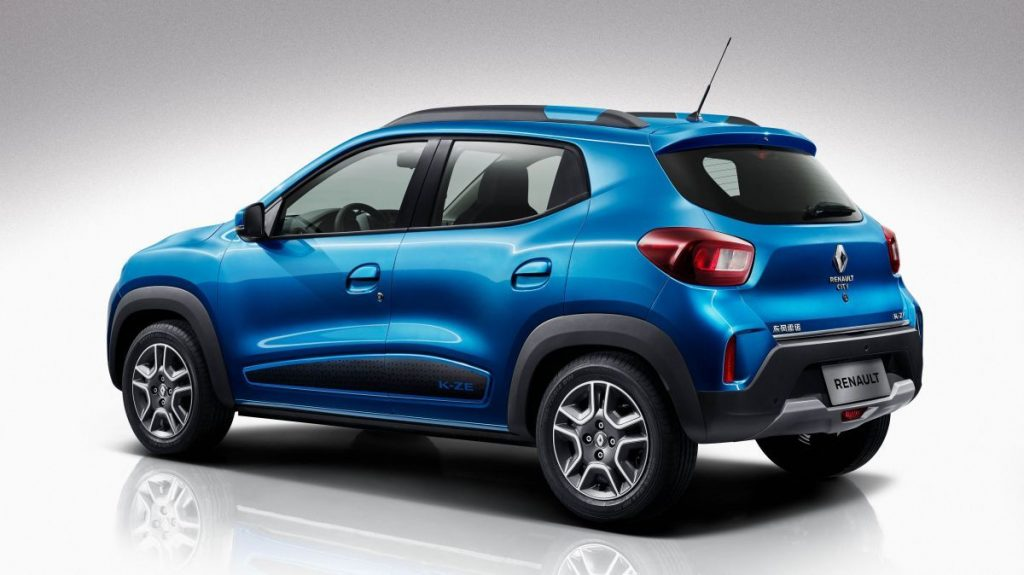 Renault K-ZE (Kwid electric) for China side rear