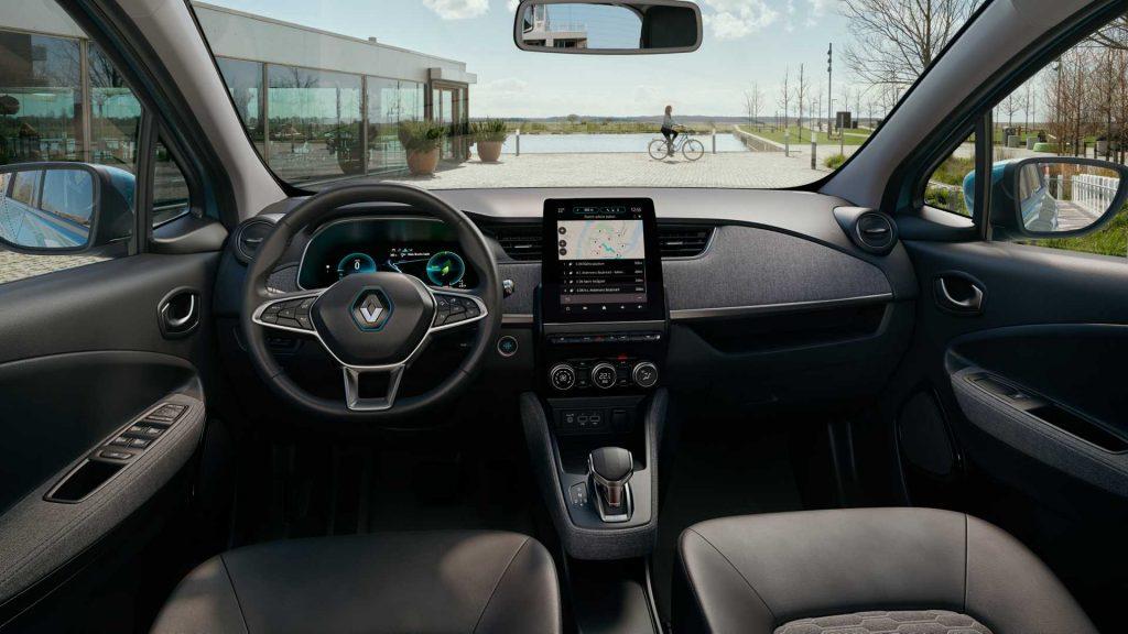 2019 Renault Zoe interior press image