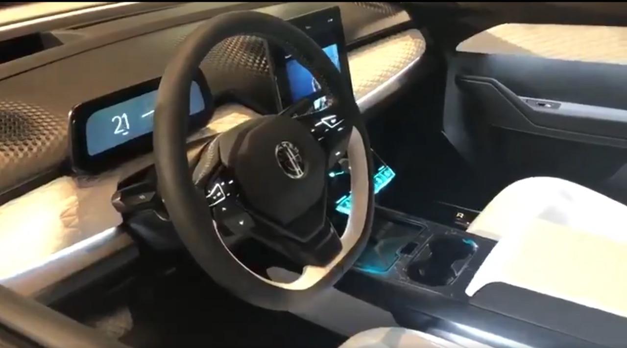 Fisker Ocean electric SUV interior