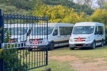 Electric-ready Force T1N minibus spotted testing
