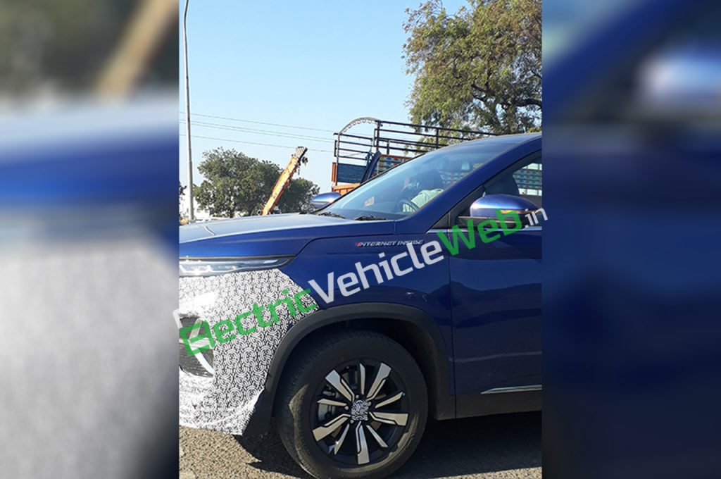 MG Hector Plus Spied 05