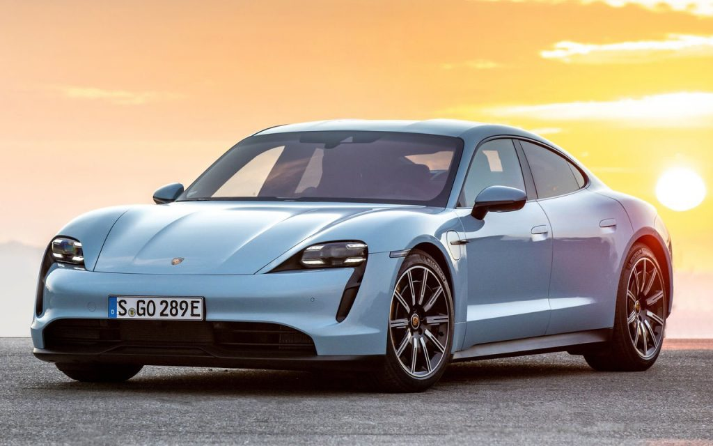 Porsche Taycan - Another one of those Electric Cars in India expected in the year 2021