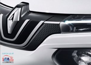 Renault Kwid Electric teased picture