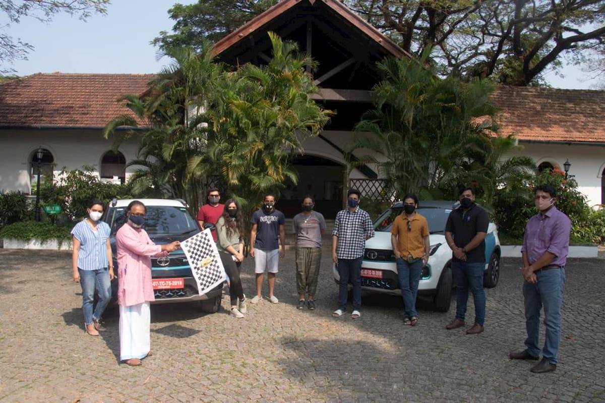 Tata Nexon EV Climate Change Mitigation Expedition