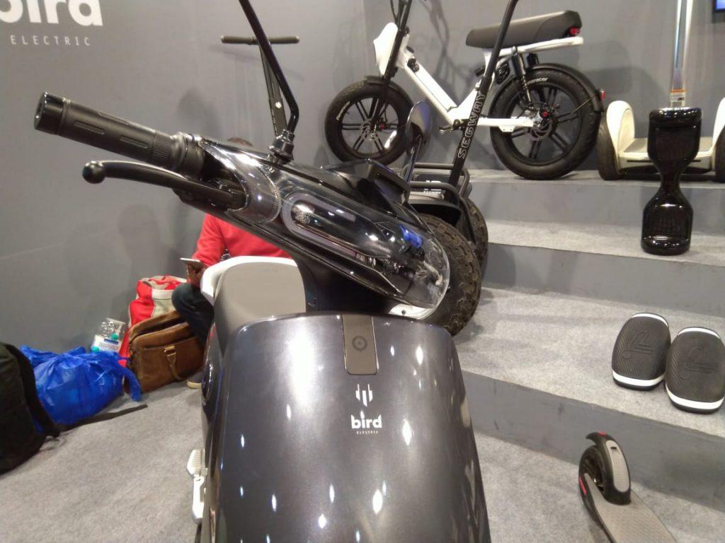 Bird ES1+ electric scooter headlamp