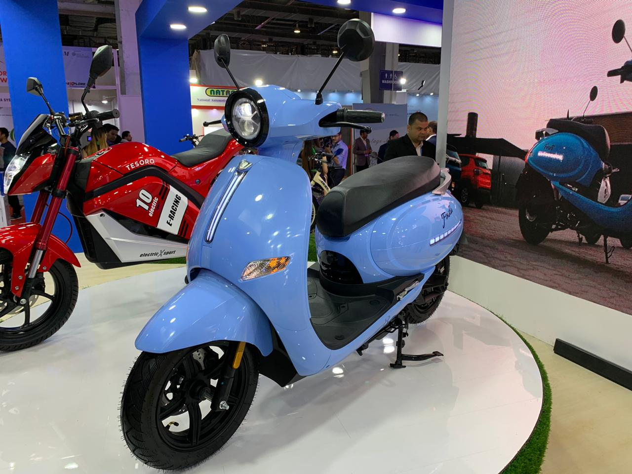 EeVe Forseti front view - Auto expo 2020