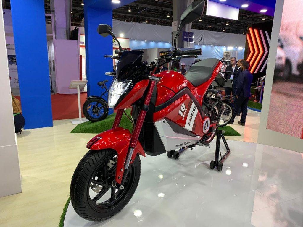 EeVe Tesoro front view 2 - Auto expo 2020