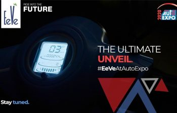 EeVe to unveil electric sports bike and a retro scooter at Auto expo 2020
