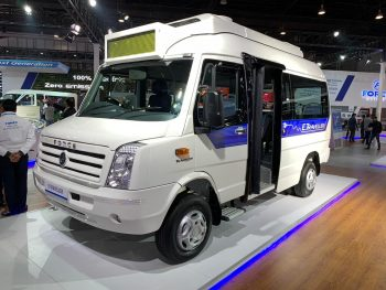 Force Traveller Electric – Auto Expo 2020 Live