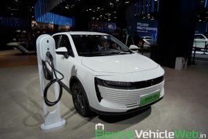 GWM Ora iQ Electric front three quarter view 2 - Auto Expo 2020