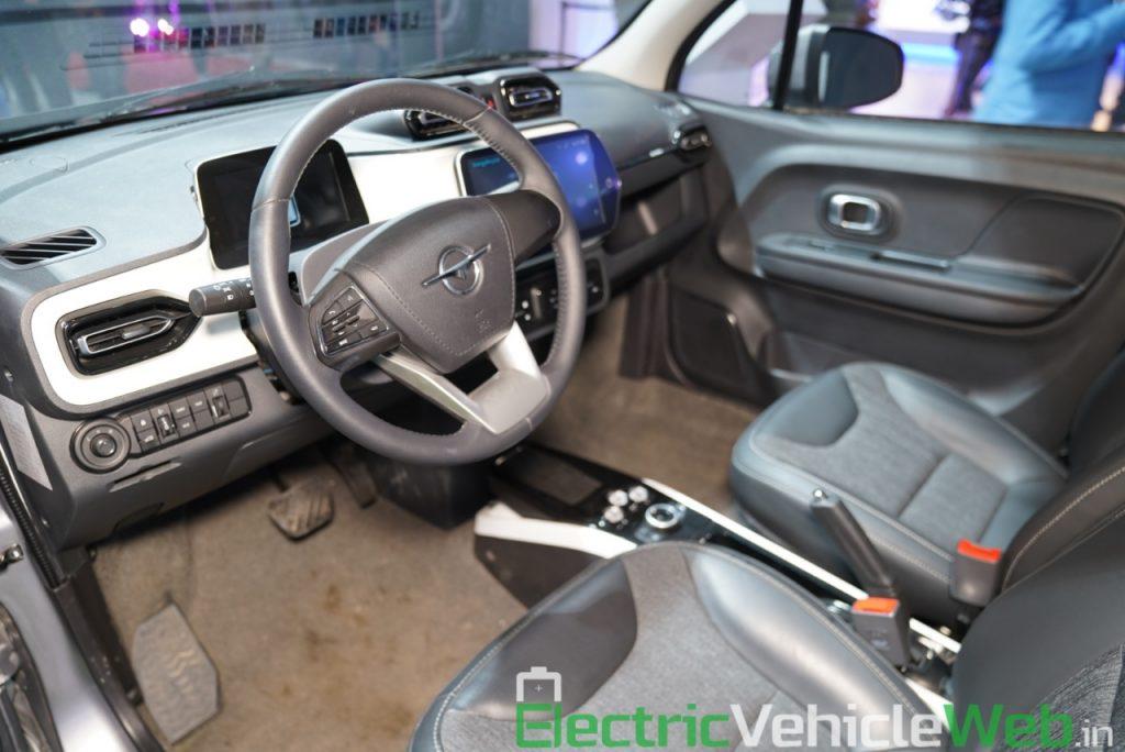 Haima Bird Electric EV1 dashboard 1 - Auto Expo 2020