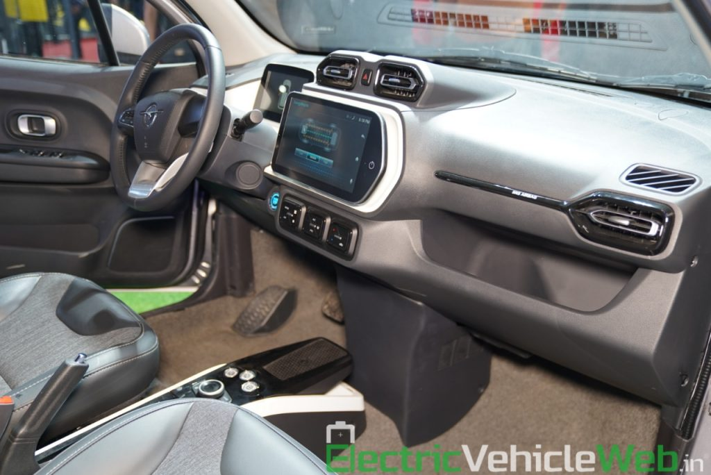 Haima Bird Electric EV1 dashboard 2 - Auto Expo 2020