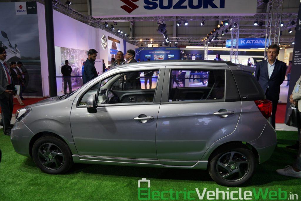 Haima Bird Electric EV1 side view 1 - Auto Expo 2020