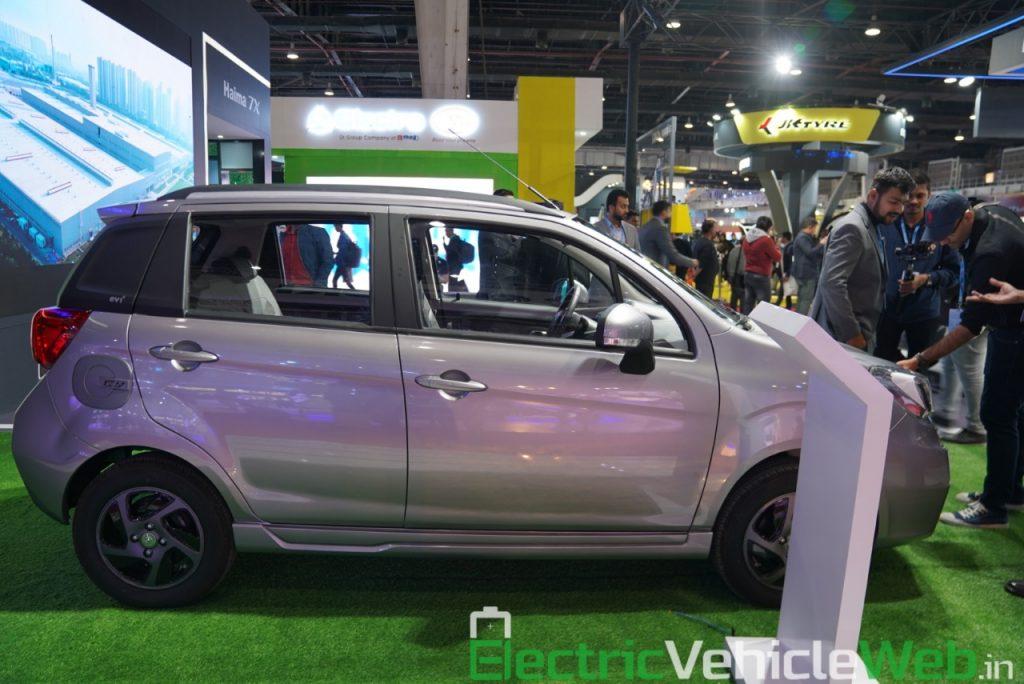 Haima Bird Electric EV1 side view 2 - Auto Expo 2020