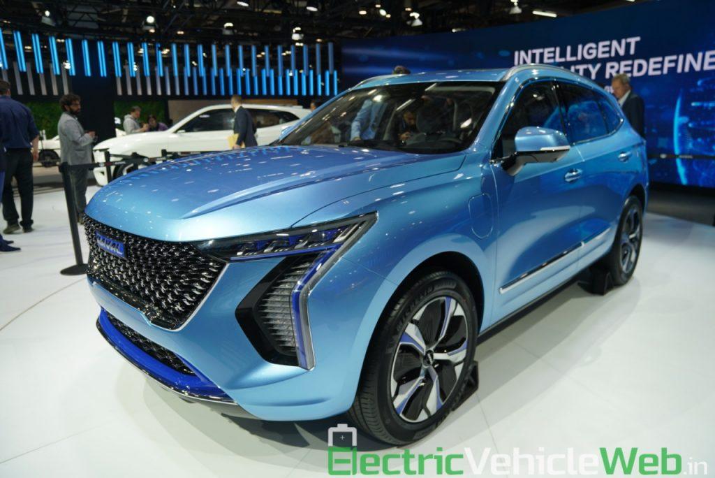 Haval H1 Concept front three quarter view - Auto Expo 2020