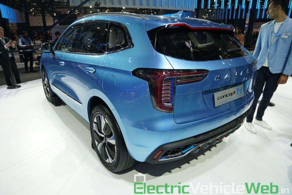 Haval H1 Concept rear three quarter view - Auto Expo 2020