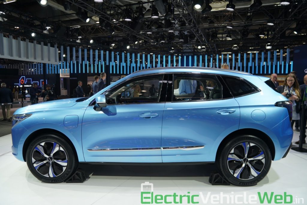 Haval H1 Concept side view - Auto Expo 2020