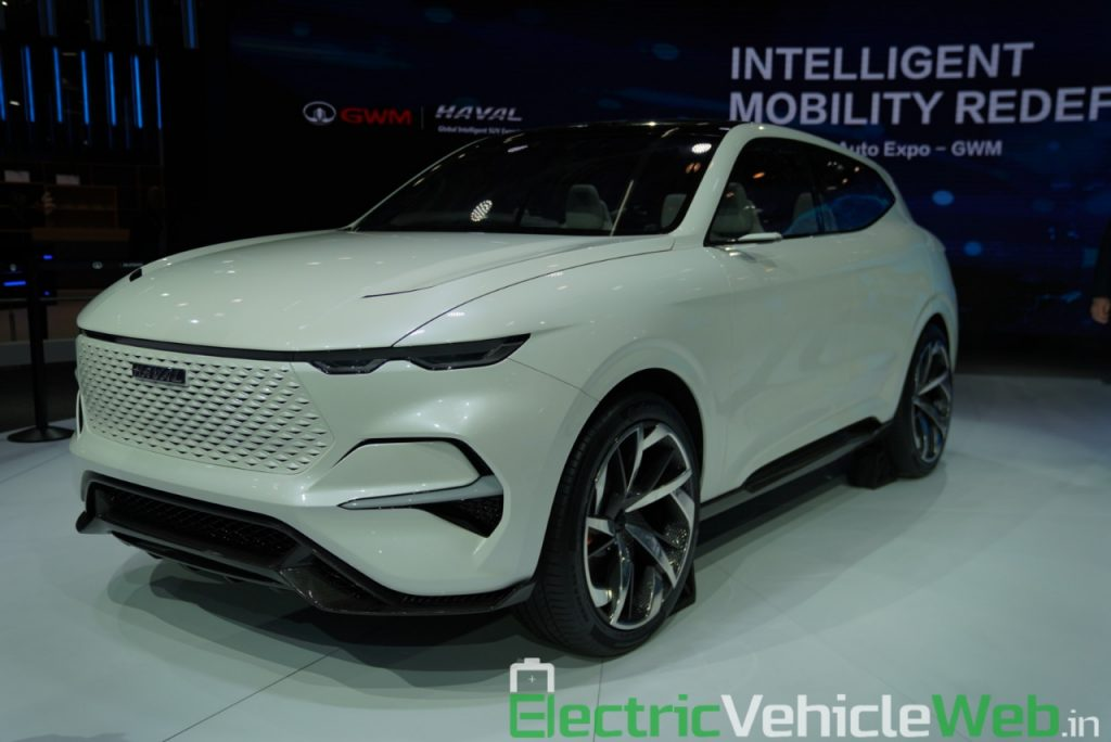 Haval Vision 2025 Concept front three quarter view 3 - Auto Expo 2020