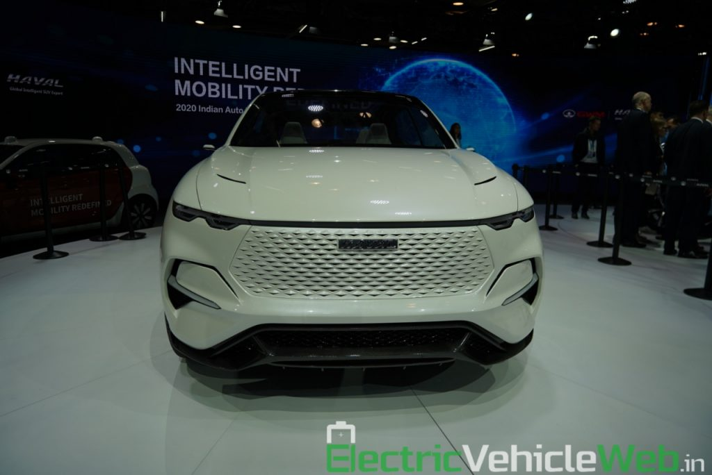 Haval Vision 2025 Concept front view - Auto Expo 2020