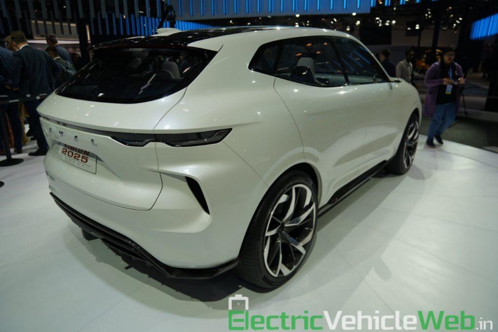 Haval Vision 2025 Concept rear three quarter view 2 - Auto Expo 2020
