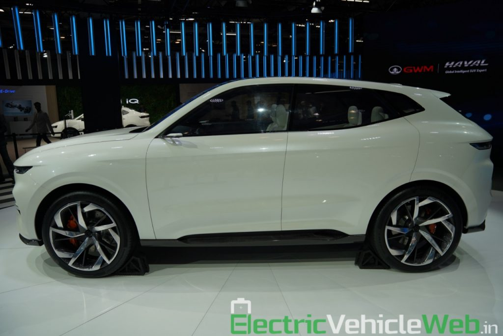 Haval Vision 2025 Concept side view - Auto Expo 2020