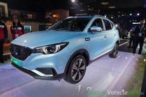 MG ZS EV front three quarter view 2 - Auto Expo 2020