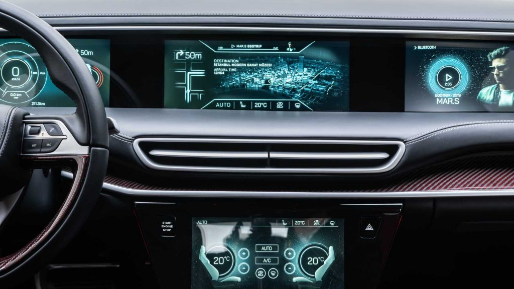 TOGG C-SUV dashboard view