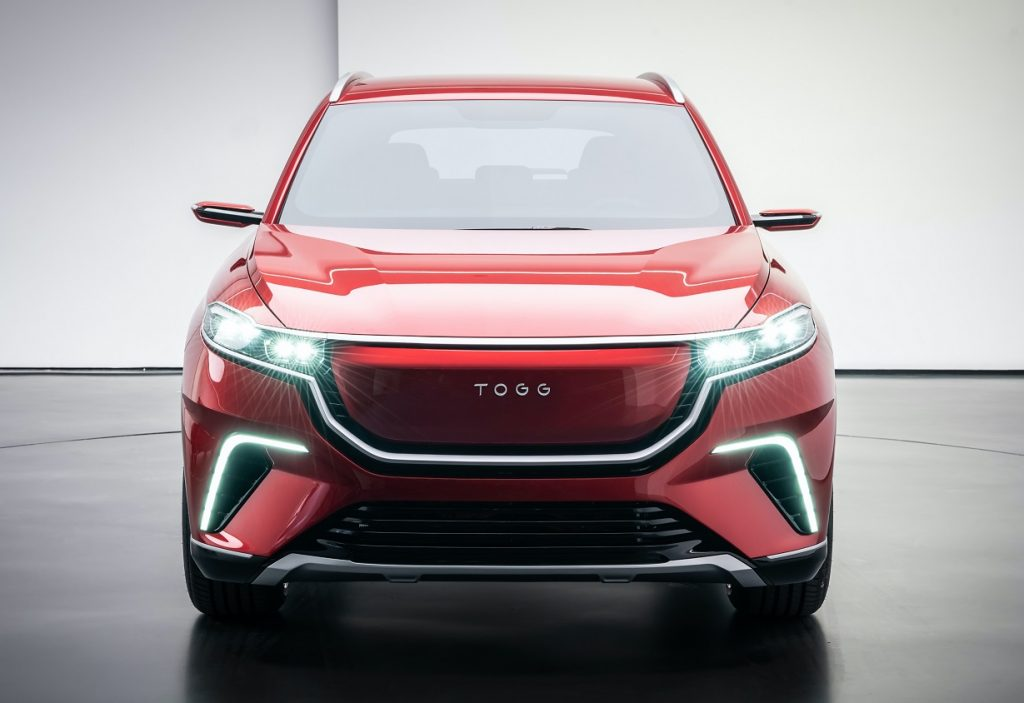 TOGG C-SUV front view