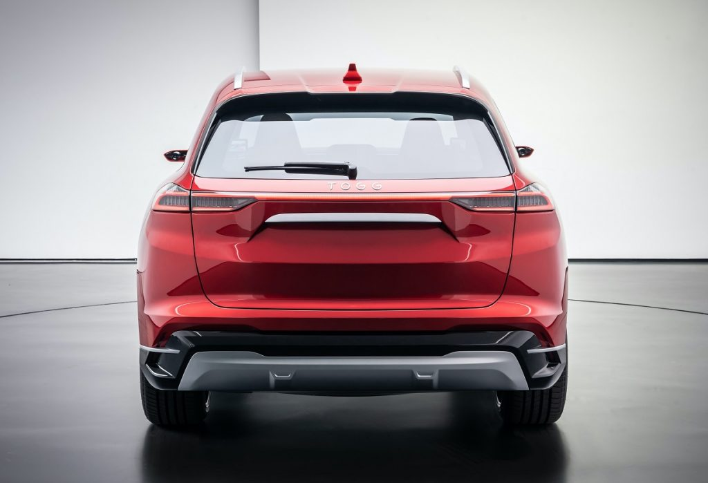 TOGG C-SUV rear view