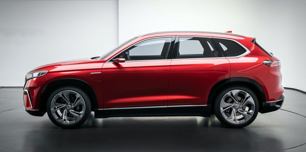 TOGG C-SUV side view