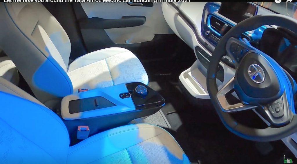 Tata Altroz EV interior