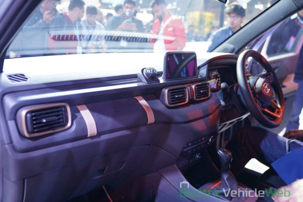 Tata HBX Concept dashboard - Auto Expo 2020