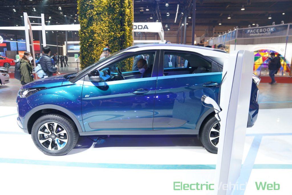 Tata Nexon EV side view 2 - Auto Expo 2020