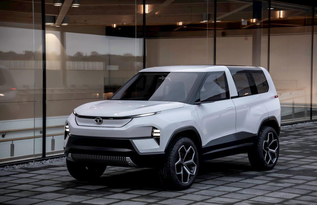 Tata Sierra EV Concept front quarters