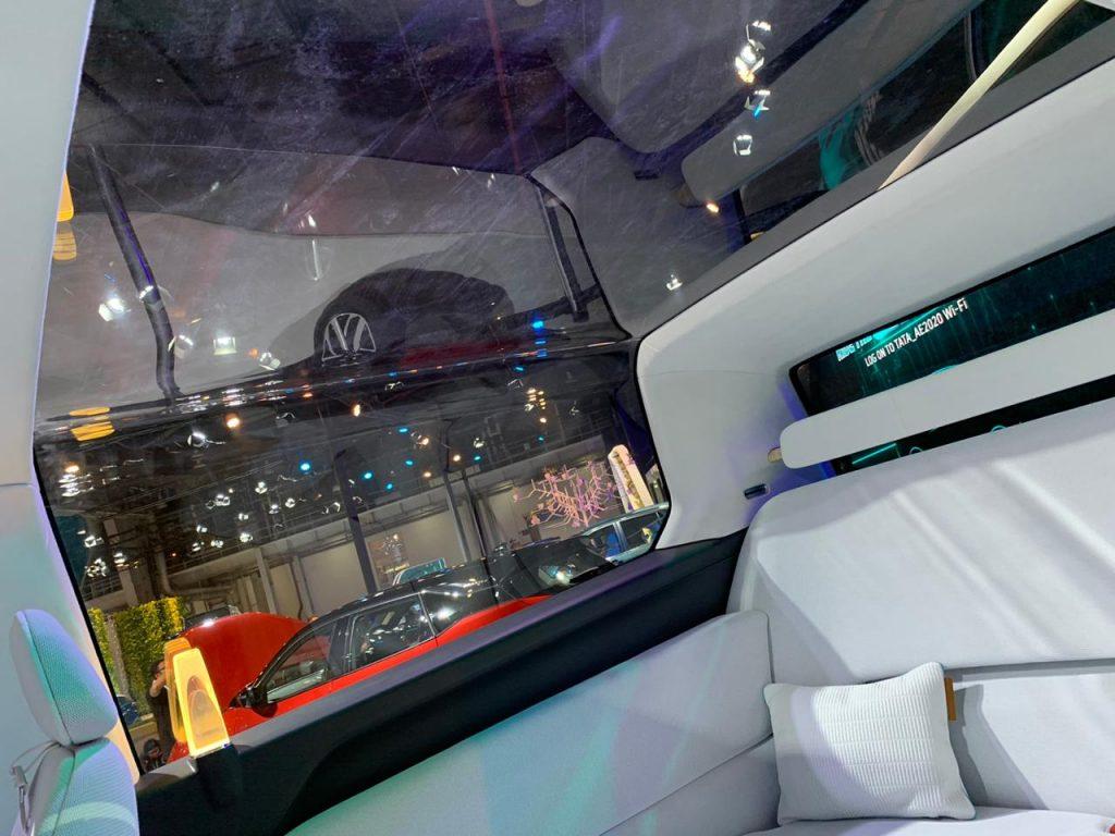 Tata Sierra EV Concept interiors - Auto Expo 2020 (2)