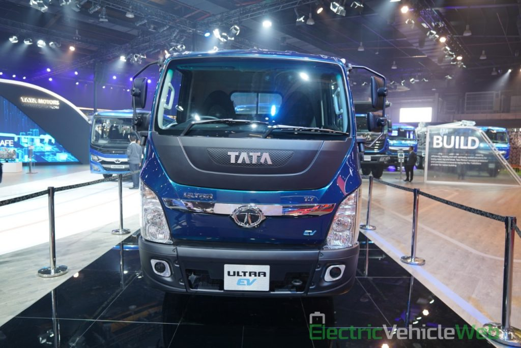 Tata Ultra Electric Truck front view 1 - Auto Expo 2020