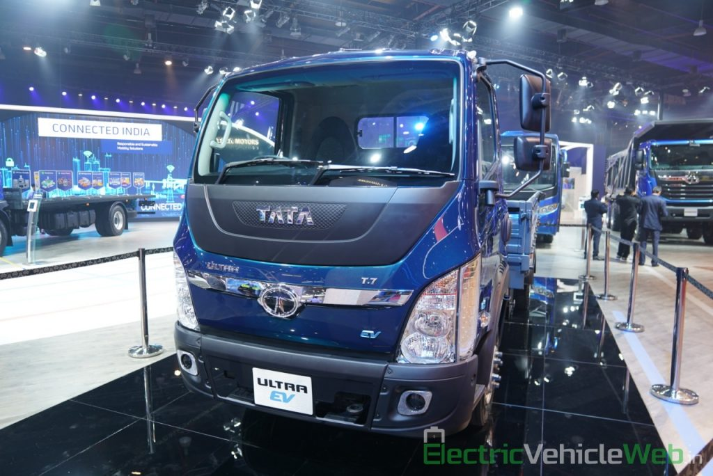 Tata Ultra Electric Truck front view 2 - Auto Expo 2020