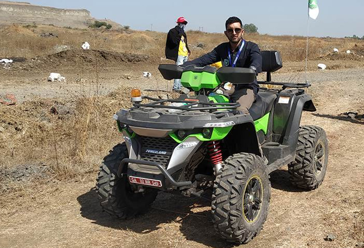 Tej Naik, Co-Founder Powerland ATV