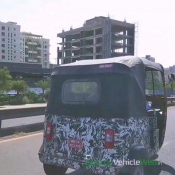 Bajaj electric autorickshaw (Bajaj RE EV) launching next financial year