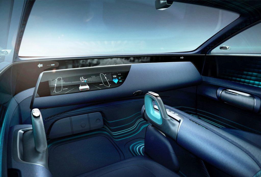 Hyundai Prophecy unveiled - dashboard 1