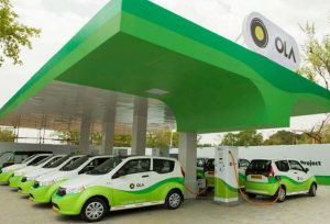 Ola-Electric-Mobility charging station