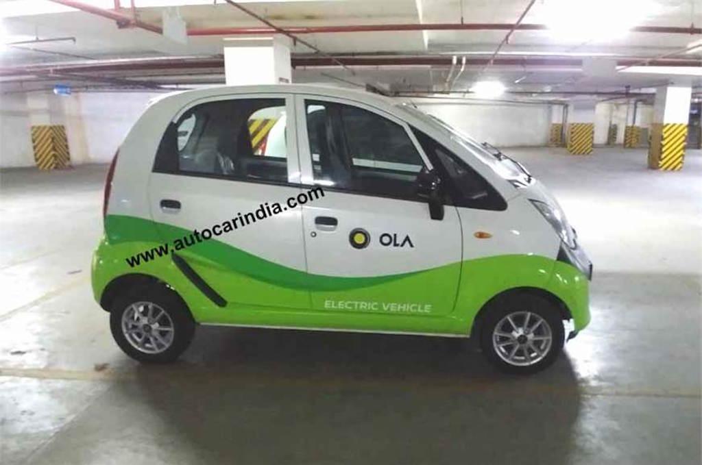 Tata Nano electric - Jayem Neo EV
