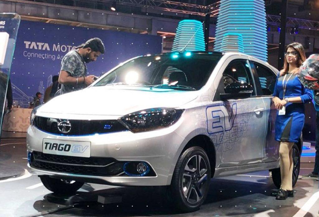 Tata Tiago electric car