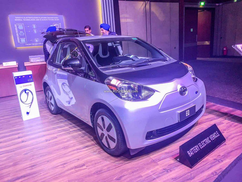 Toyota eQ electric