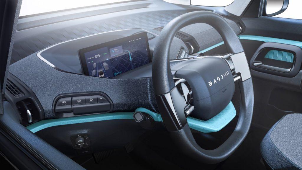 Baojun E300 cockpit